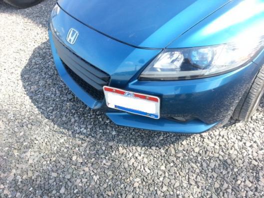 Tow Hook License Plate Honda Crz Forum Honda Cr Z