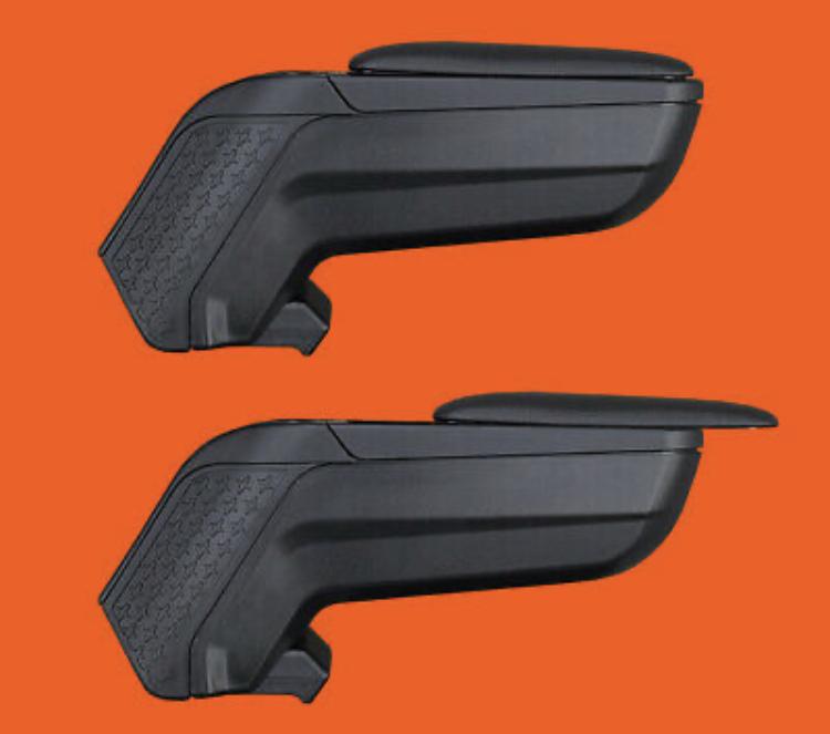 for CR-Z CRZ CR Z Car Armrest Center Console Accessories Arm Rest Black