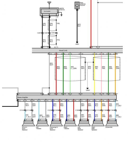 Honda Cr Z Hybrid Car Forums, Factory Radio Wiring Diagram