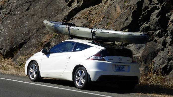 Any Expirience Opinions On Kayak Hauling Honda Crz