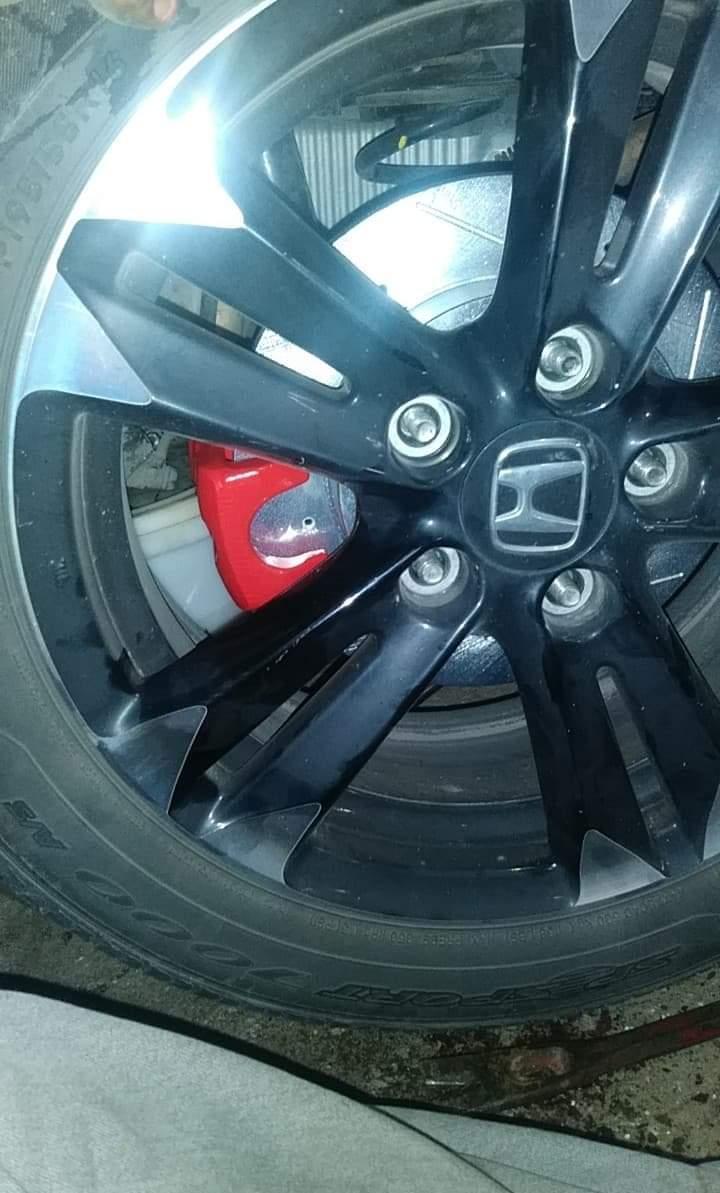 For 2011 Honda CR-Z Hart Brakes Front Rear Low Dust Ceramic Brake Pads