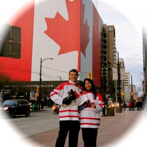Yes we are Proud Canadians! :)