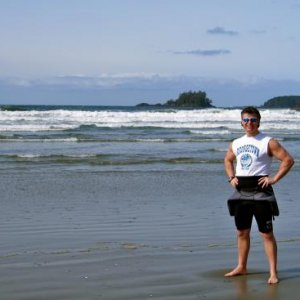 Enjoying a Week of Surf Fun at LongBeach on Vancouver Island BC Canada